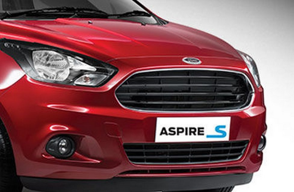 Ford Aspire Sports Edition Front