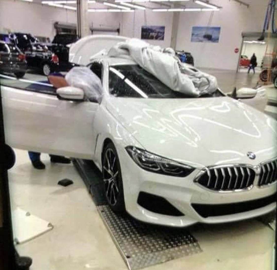 Gorgeous Looking Production Bmw 8 Series Spied Undisguised Completely