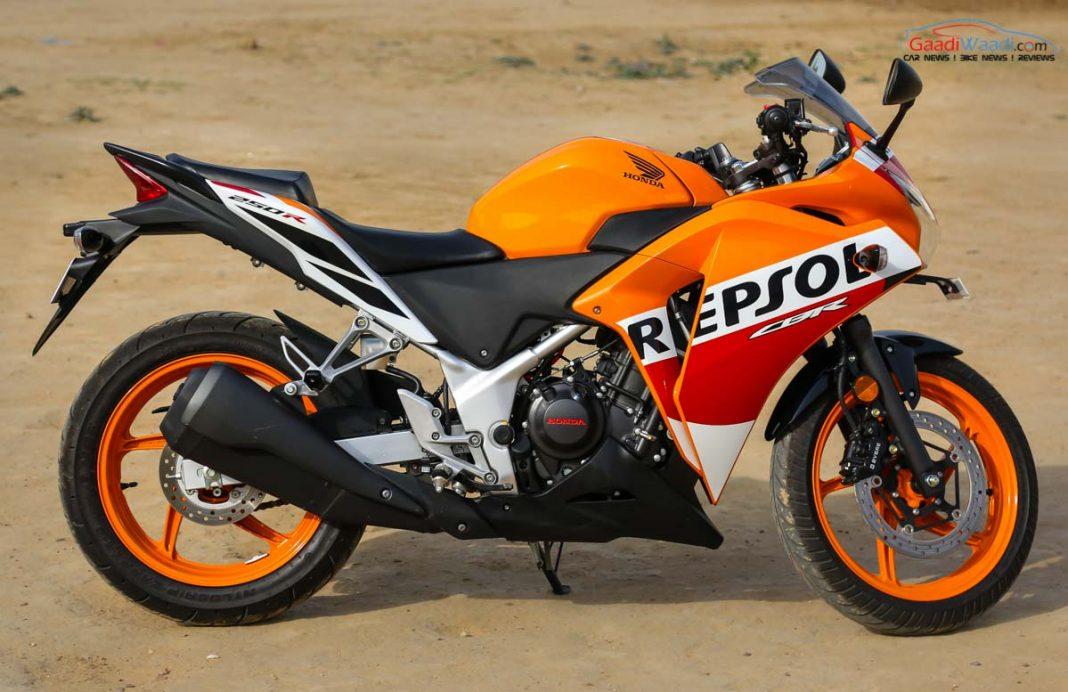 2017 Honda CBR 250 Repsol