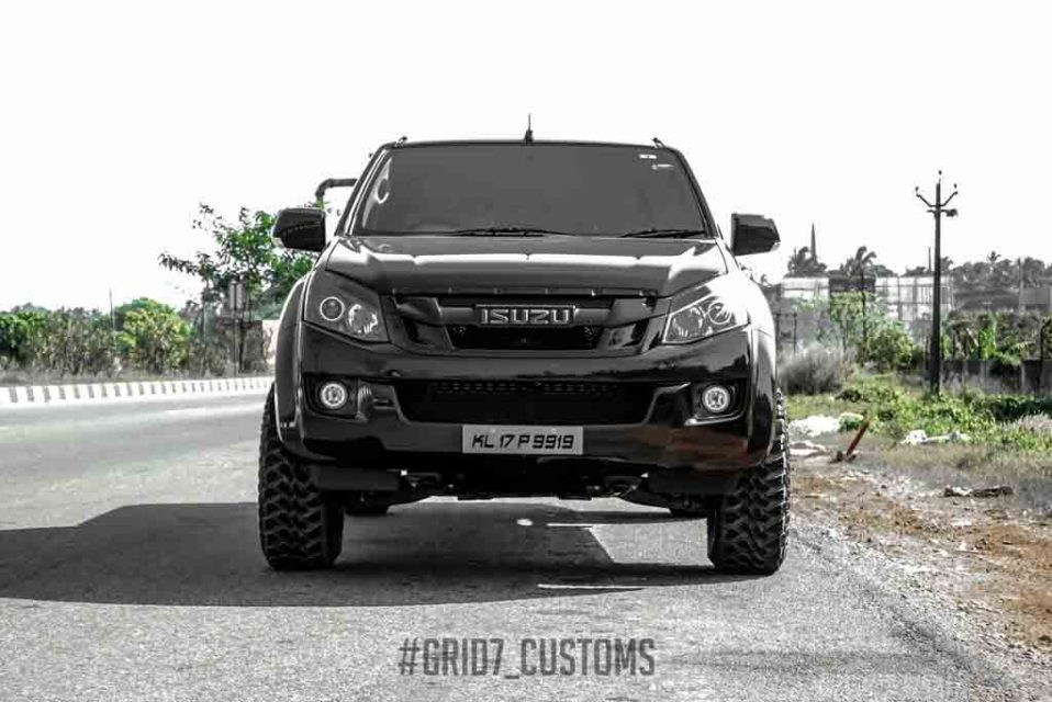 Customised Isuzu D Max V Cross Looks Like A Monster