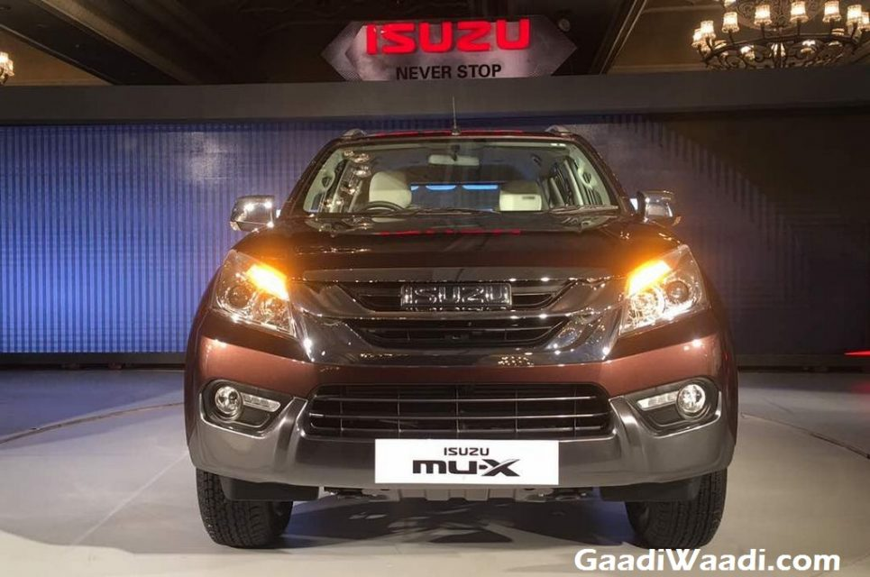 Isuzu MU-X SUV Launched in India Price, Engine, Specs, Features, Review 2