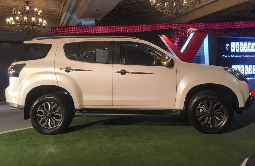 Isuzu Mu X Suv Launched In India Price Engine Specs