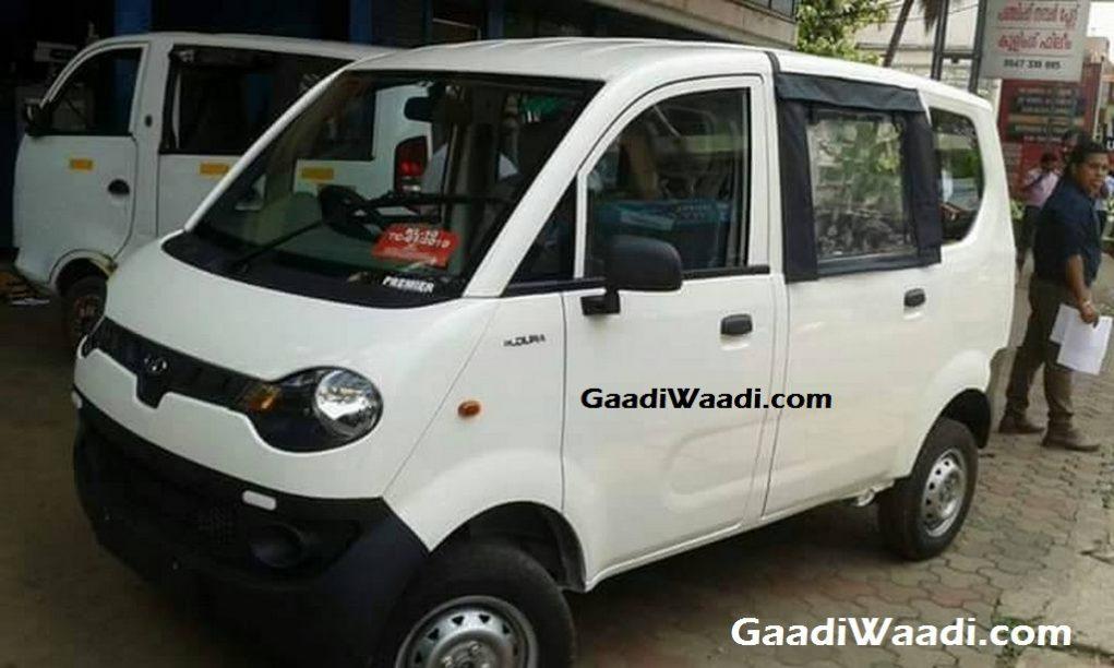 Mahindra Jeeto Passenger Van 1