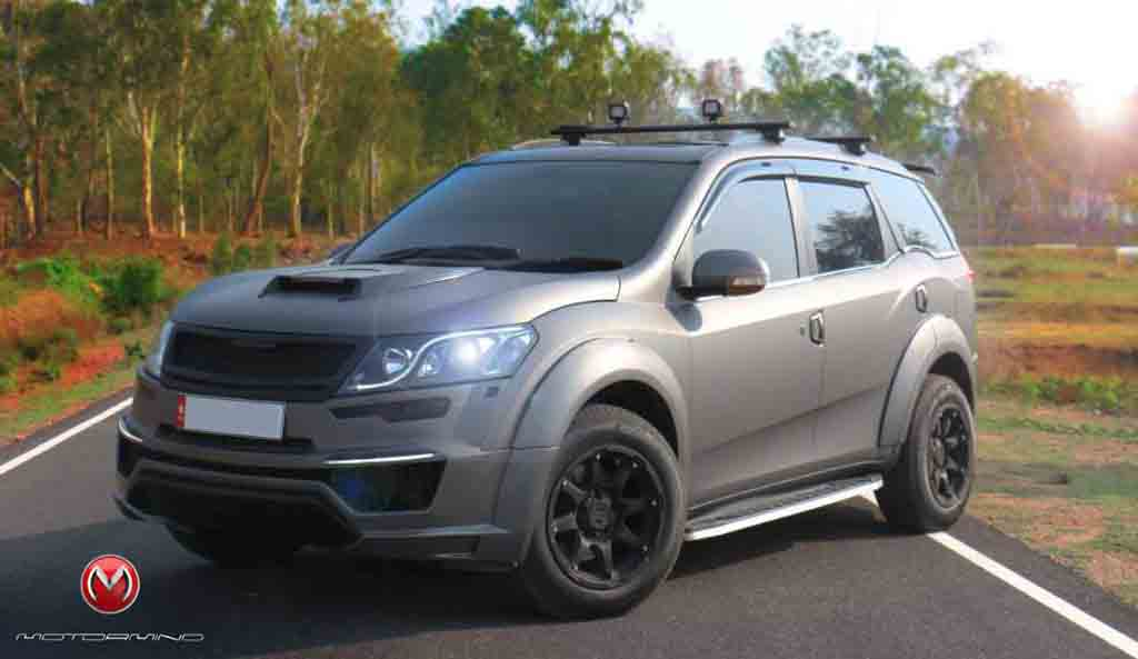 Mahindra Xuv500 Becomes More Aggressive With Mad Men Accessories