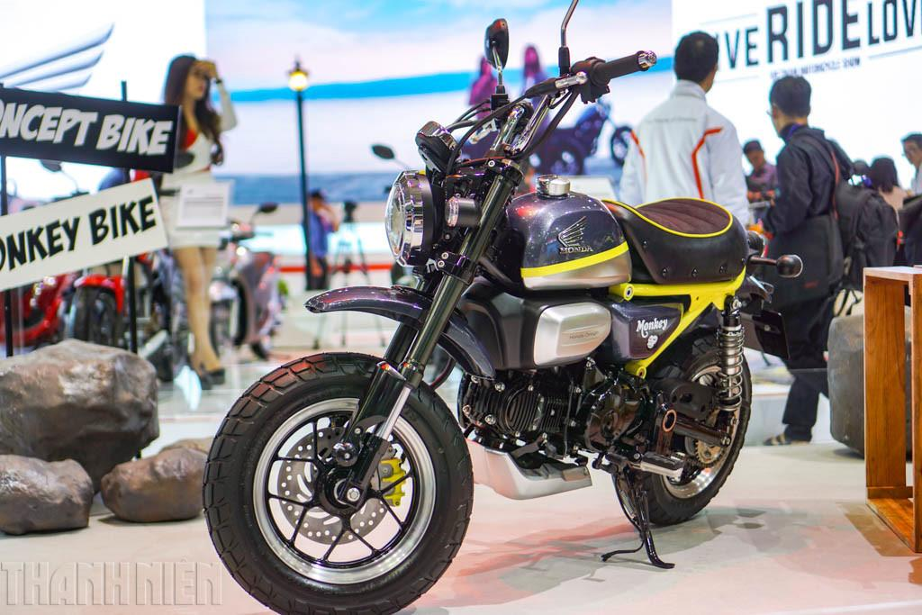 honda monkey 125 concept revealed at vietnam motorcycle show. Black Bedroom Furniture Sets. Home Design Ideas