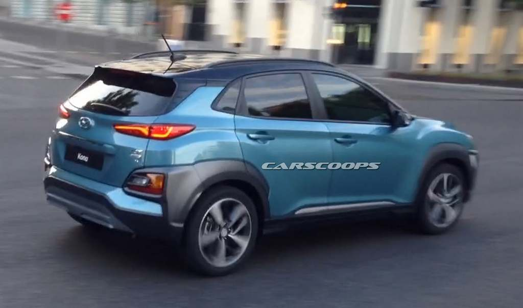 hyundai kona compact suv launch price specs features. Black Bedroom Furniture Sets. Home Design Ideas