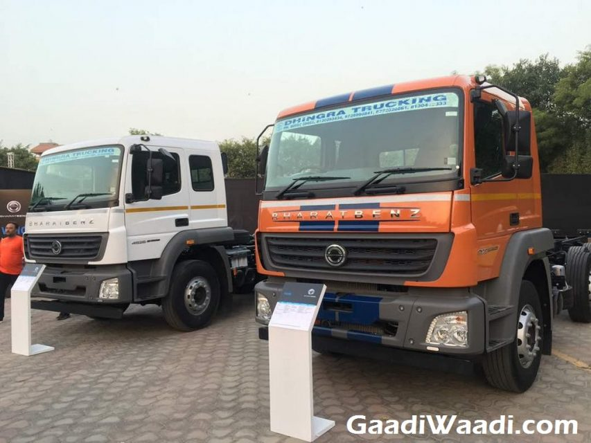 New Range of Bharat-Benz Heavy Duty Trucks Launched in India 2
