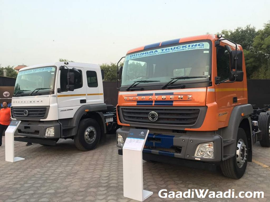 New Range of Bharat-Benz Heavy Duty Trucks Launched in India