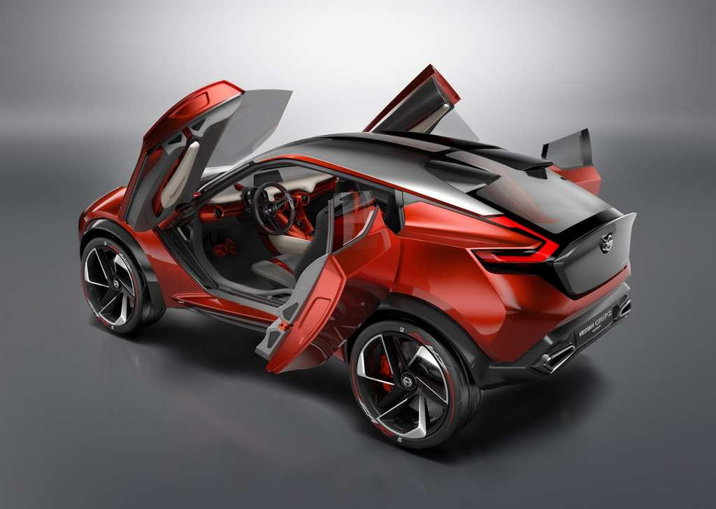Nissan Electric Crossover Concept Gripz Pictured