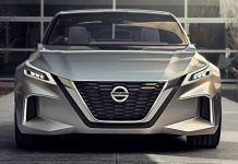 Nissan Vmotion 2.0 Electric Sedan Concept 1