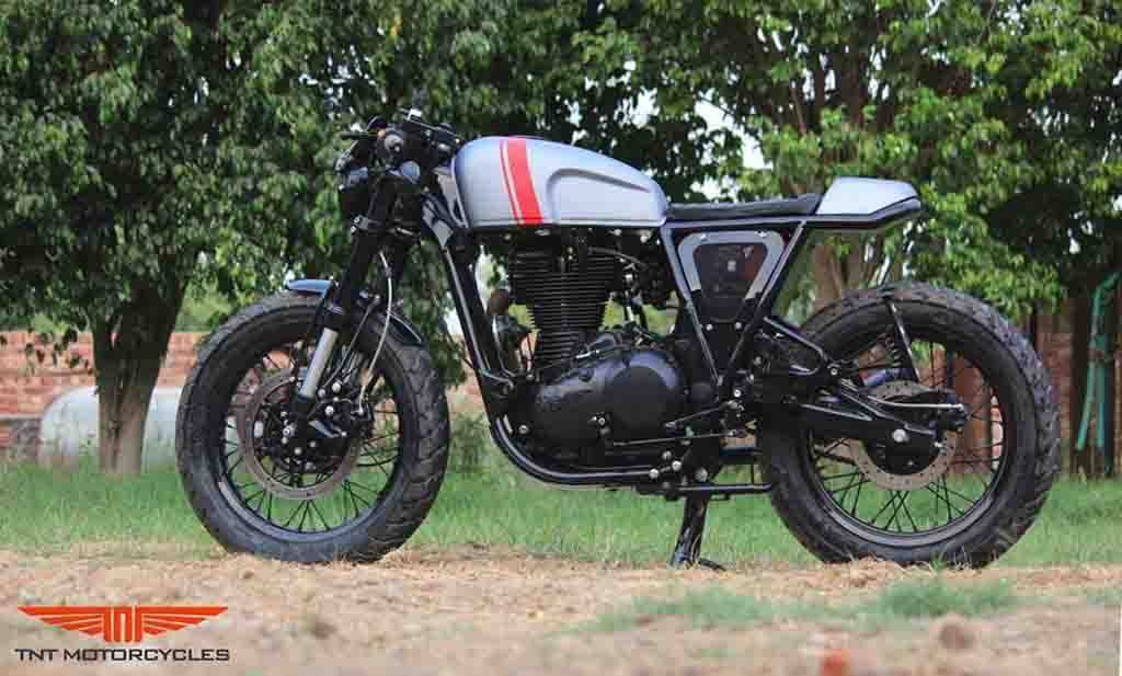 Royal Enfield Continental Gt Customised Into A Neo Retro Café Racer