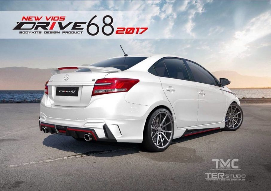 Ter Studio Bodykit for Toyota Vios 1