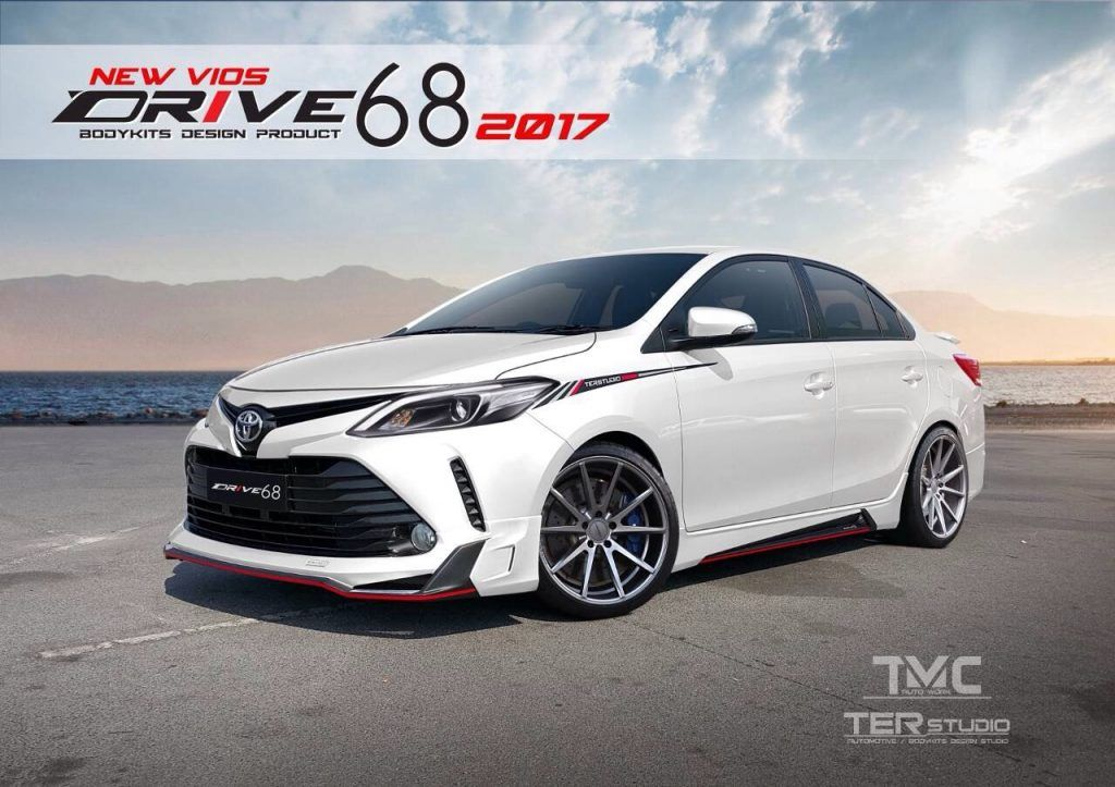 Ter Studio Bodykit for Toyota Vios