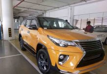 Fortuner with Nippon Body Kit