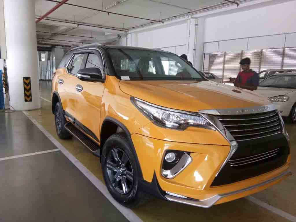 Toyota Fortuner Custom With Nippon Body Kit