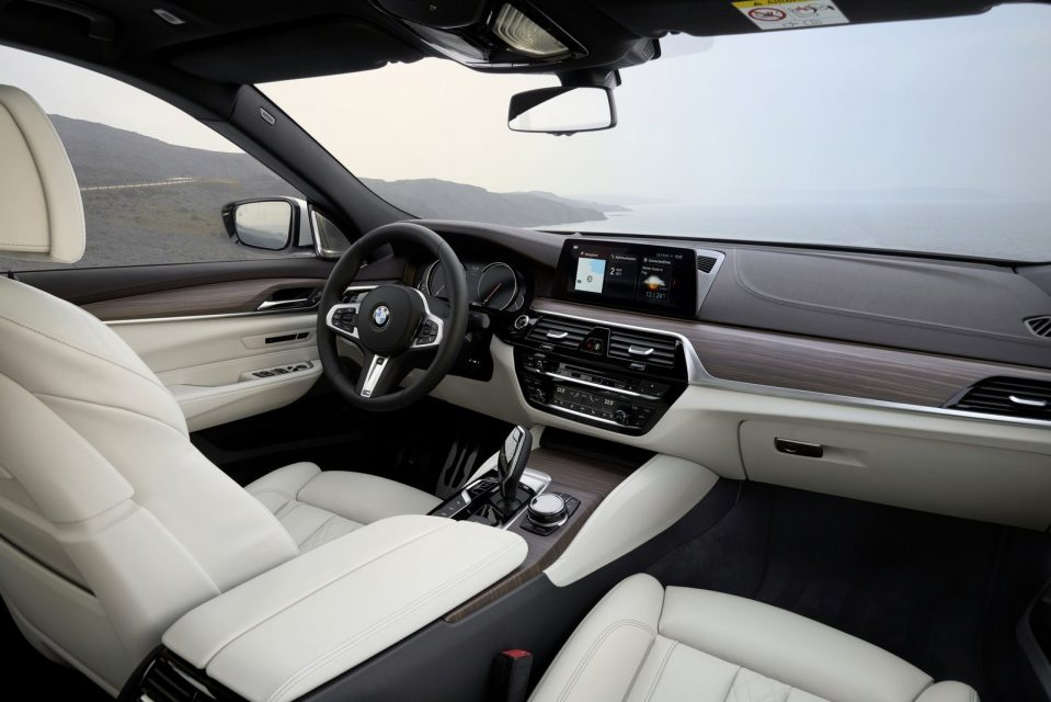 2018 BMW 6-Series Gran Turismo Interior