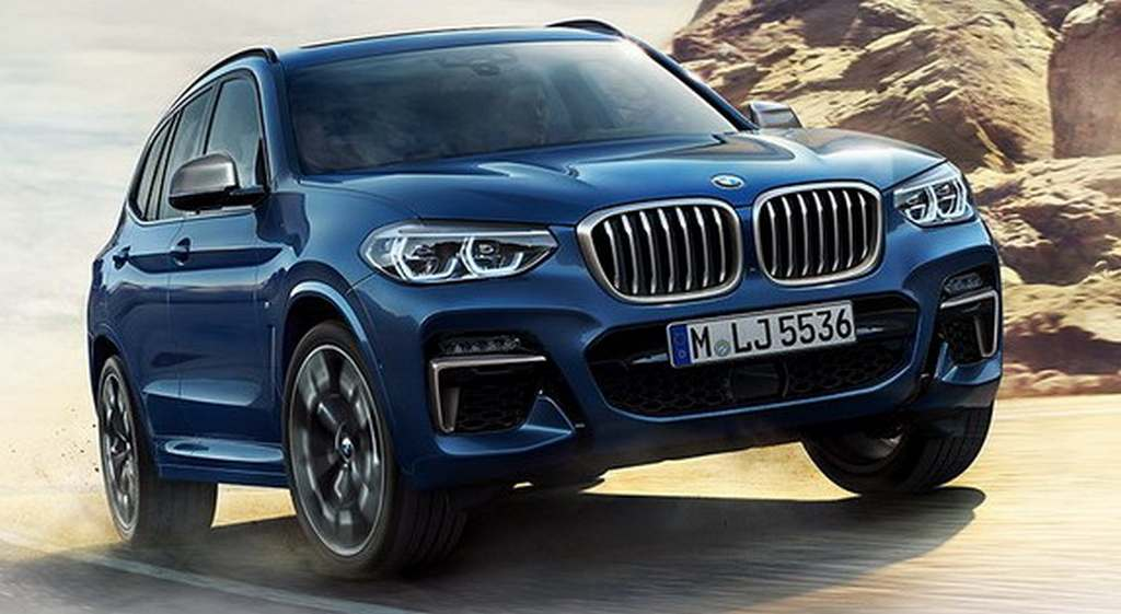 New Generation Bmw X3 Has An Evolutionary Exterior And Is Nearly 55 Kilos Lighter Than The Outgoing Model