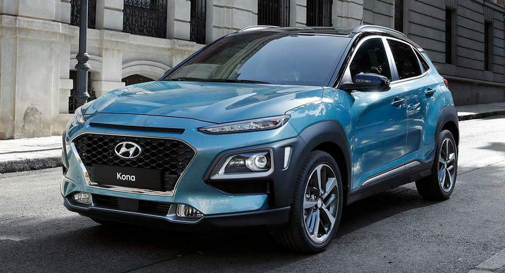 hyundai kona compact suv revealed price specs launch date. Black Bedroom Furniture Sets. Home Design Ideas