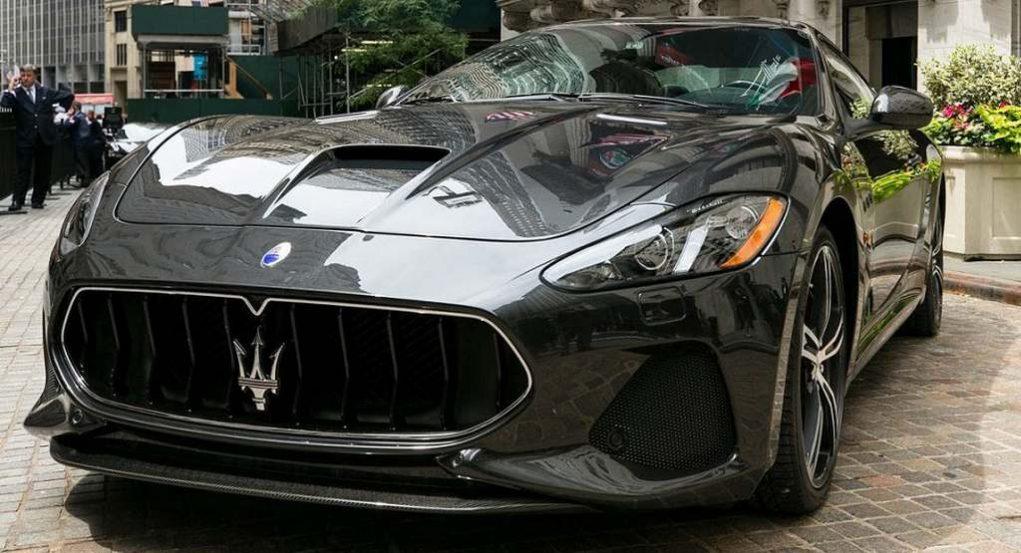 2018 Maserati GranTurismo Facelift