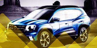 2018 Renault Duster Rendered