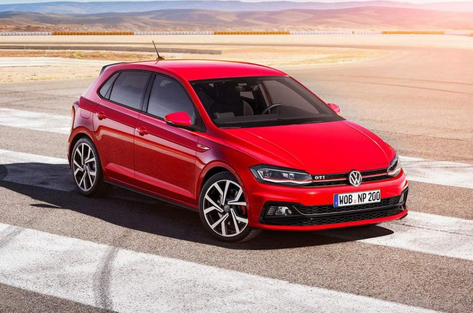 2018 Volkswagen Polo GTI India 1