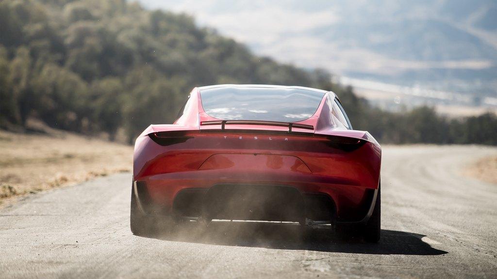 new tesla roadster unveiled   price specs range