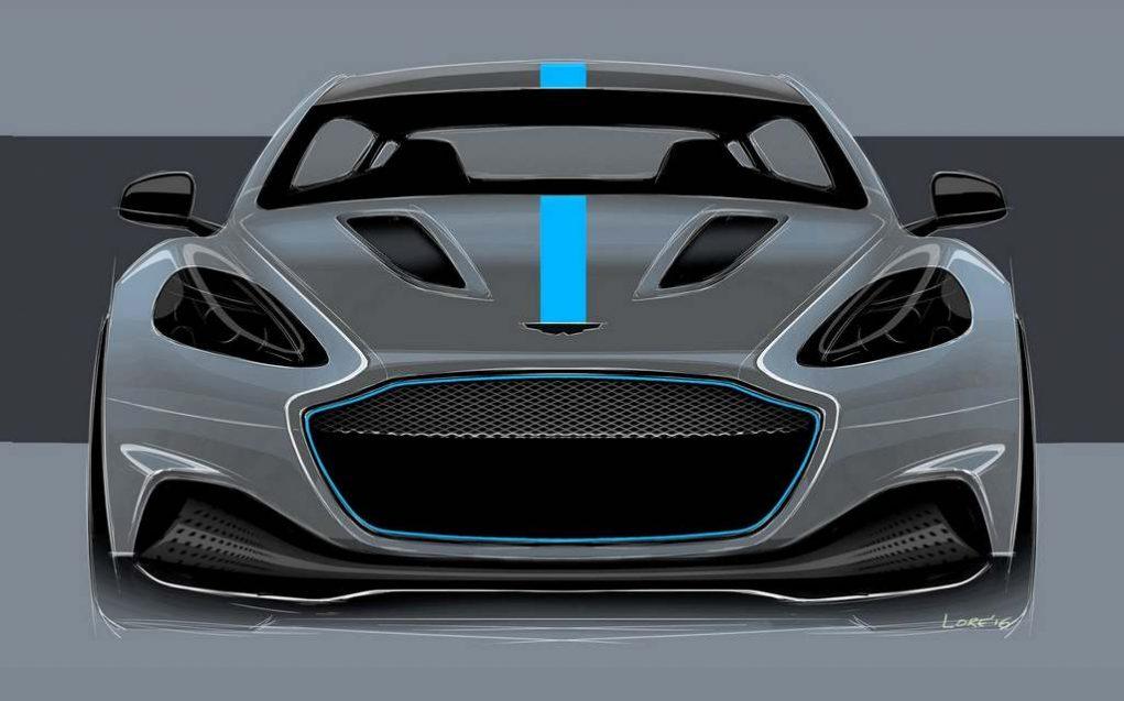 Aston Martin RapidE Concept 1