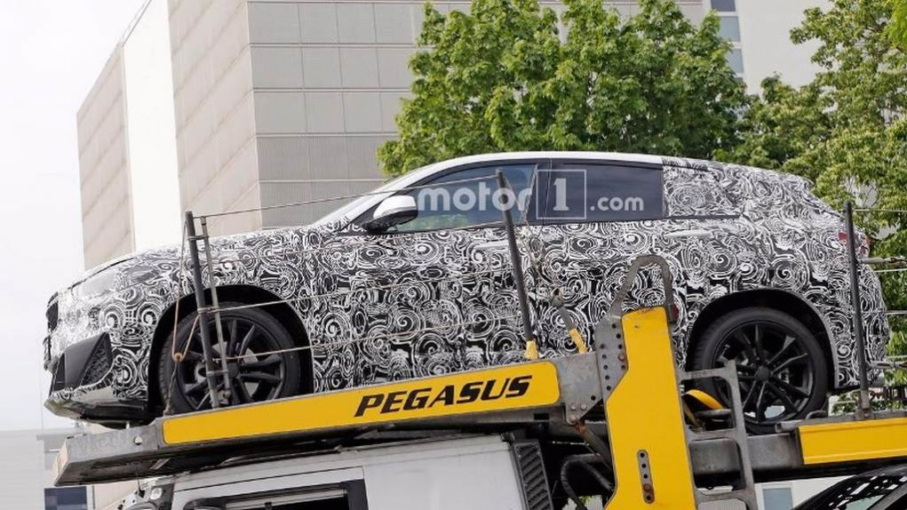 BMW X2 Spotted 1