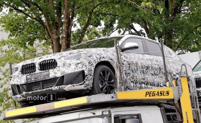 BMW X2 Spotted