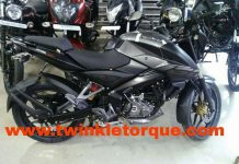 Bajaj Pulsar NS160 Spotted at Dealership in India