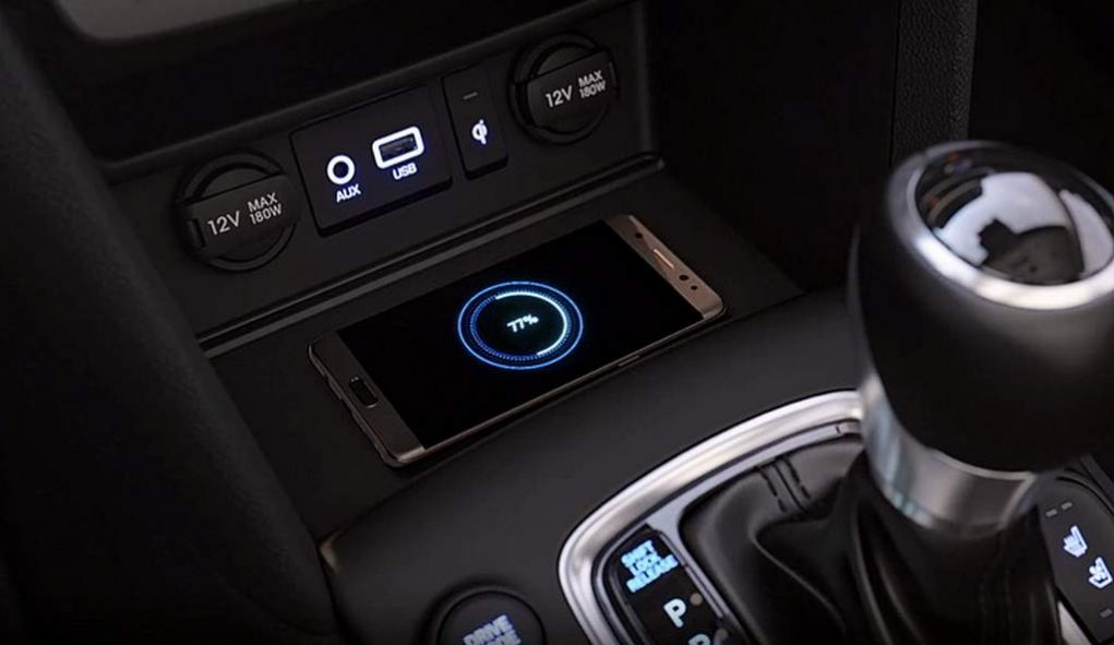 Hyundai Kona Wireless Smartphone Charging