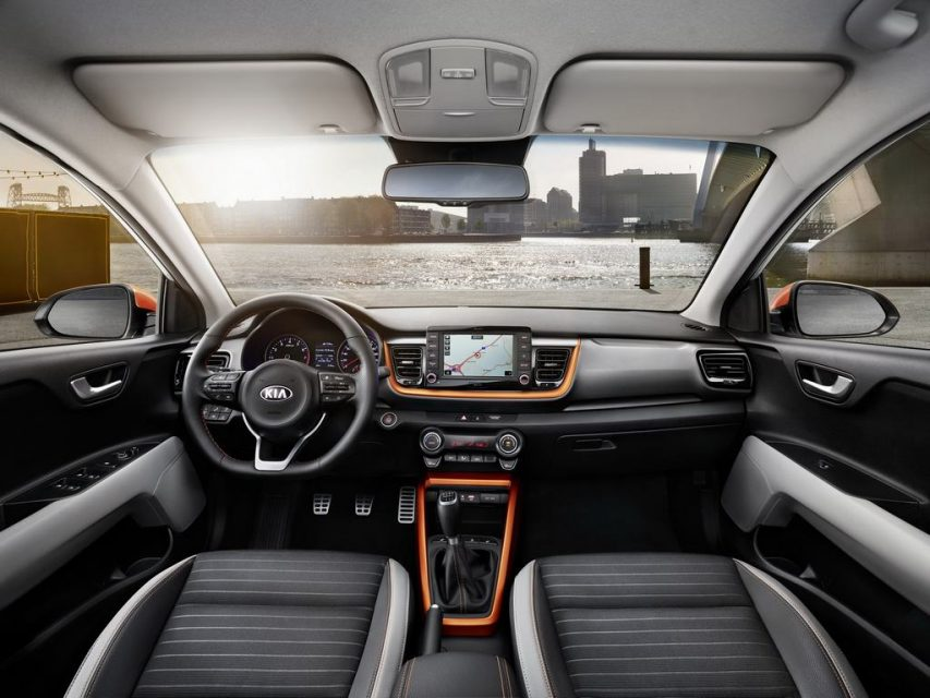 India-Bound Kia Stonic Interior