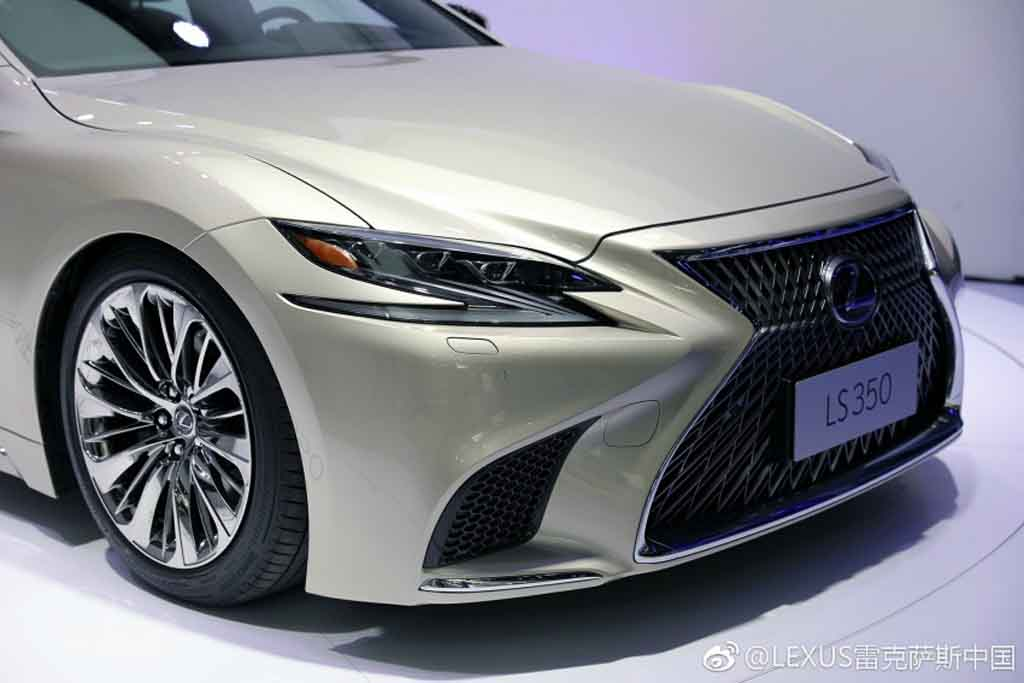lexus ls 350 makes international debut at macao auto show. Black Bedroom Furniture Sets. Home Design Ideas