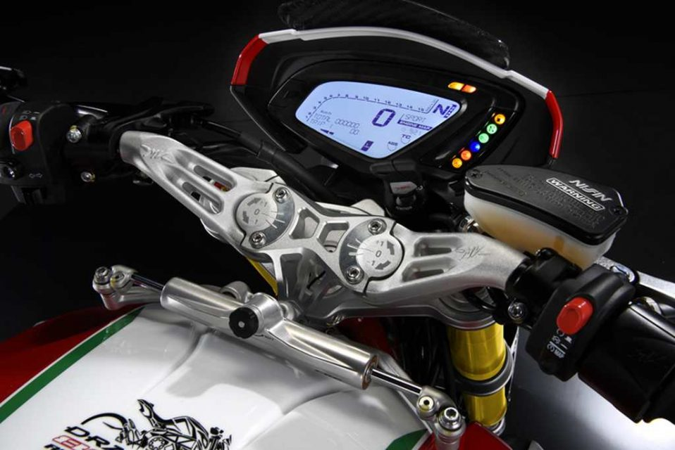 MV Agusta Dragster RC Instrument Panel