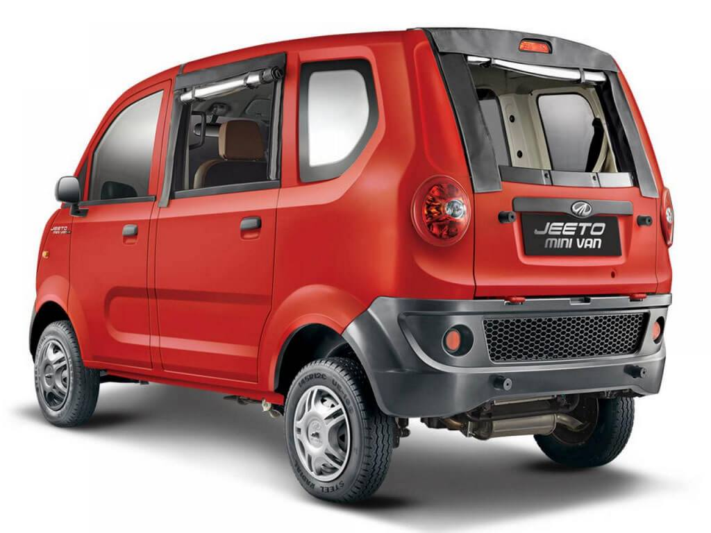 mahindra jeeto minivan launched in india price specs features review. Black Bedroom Furniture Sets. Home Design Ideas