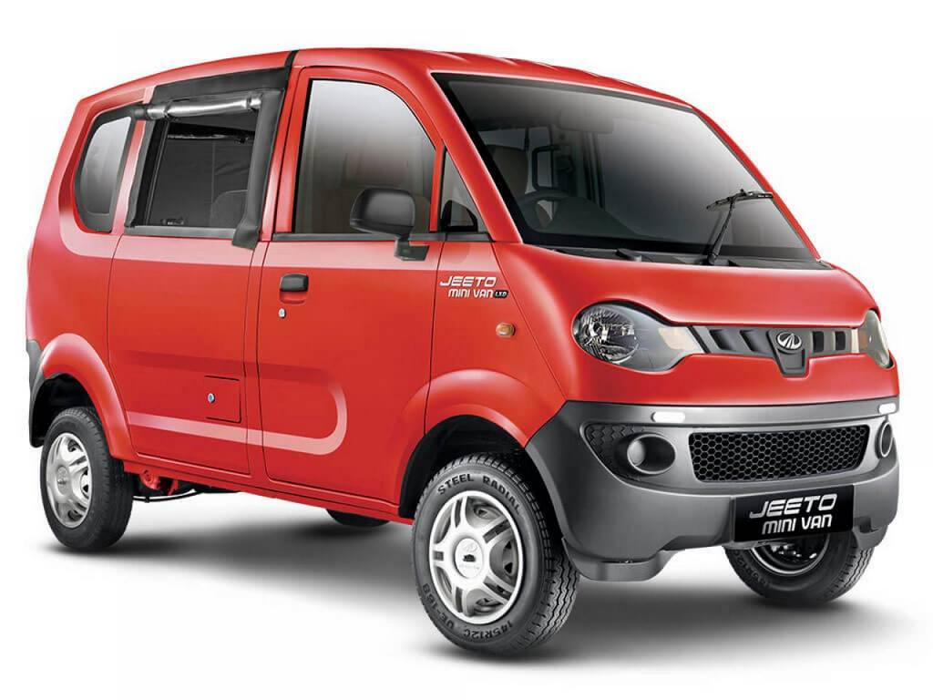 Mahindra Jeeto Minivan Launched In India Price Specs