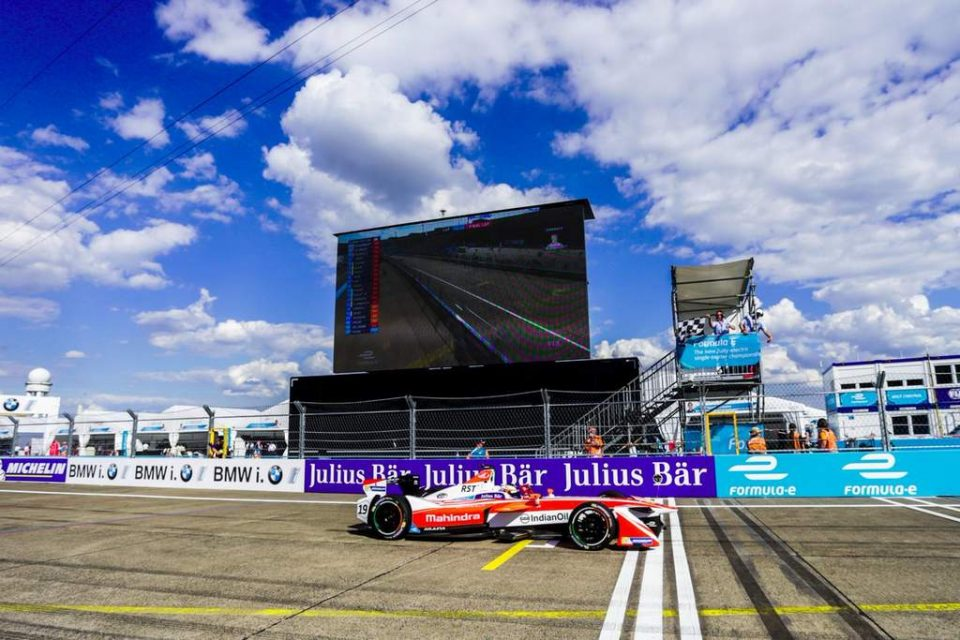 Mahindra Racing Takes Maiden Win in Formula E at Berlin ePrix 1