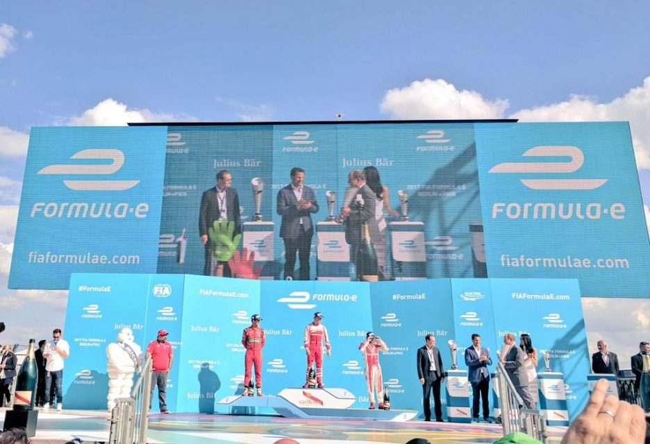 Mahindra Racing Takes Maiden Win in Formula E at Berlin ePrix 2