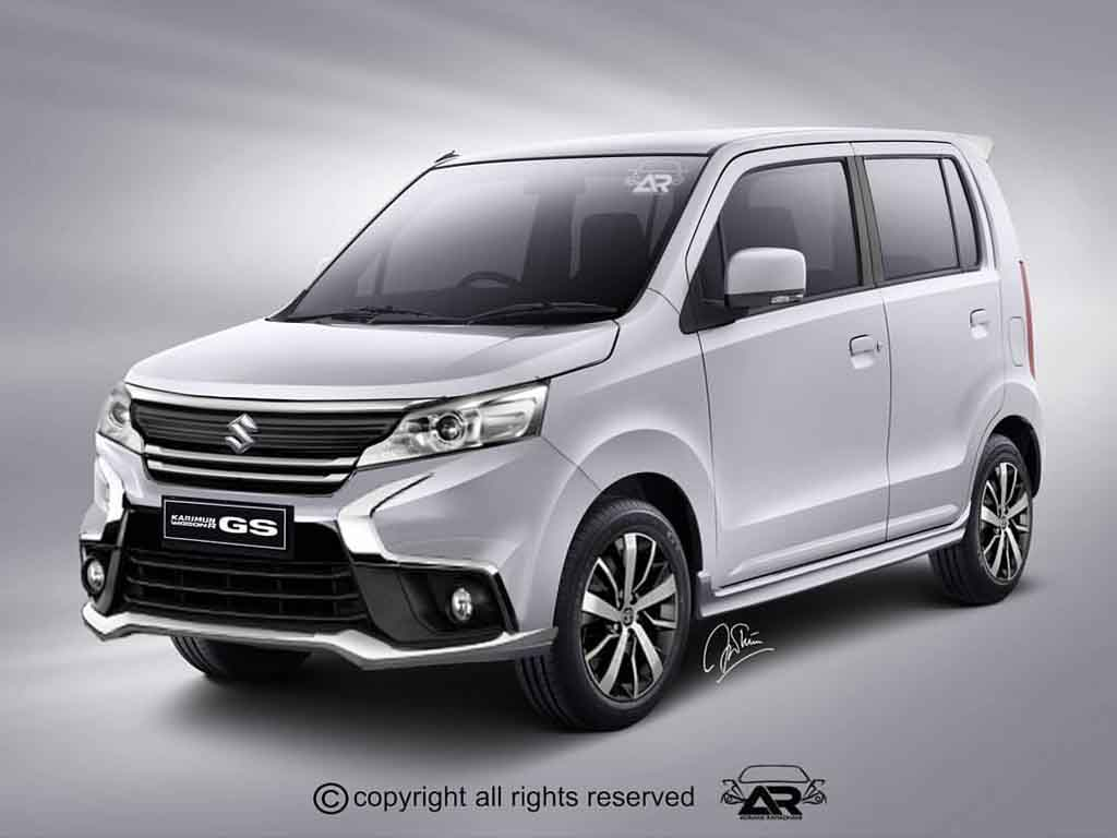 maruti wagon r facelift rendered like aggressive micro suv. Black Bedroom Furniture Sets. Home Design Ideas