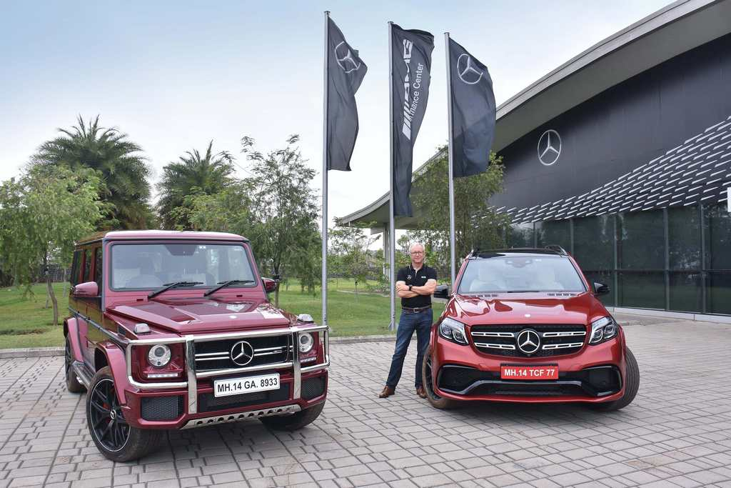 Mercedes AMG G 63 Edition 463 and Mercedes AMG GLS 63 India