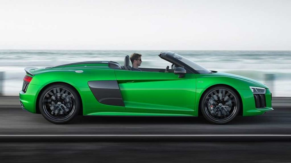 New Audi R8 V10 Plus Spyder 1