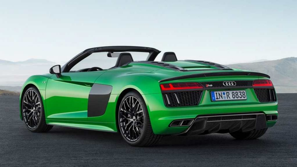 New Audi R8 V10 Plus Spyder 3