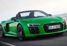 New Audi R8 V10 Plus Spyder 5