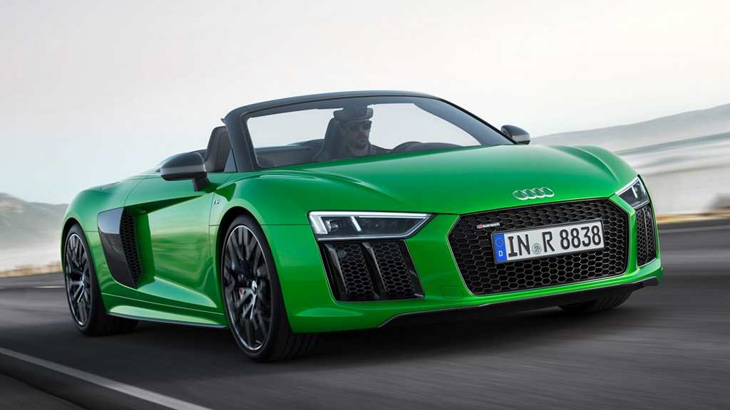 New Audi R8 V10 Plus Spyder 5