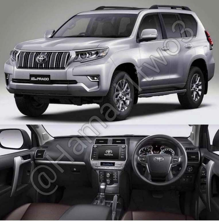 2018 toyota land cruiser prado india launch price specs features. Black Bedroom Furniture Sets. Home Design Ideas