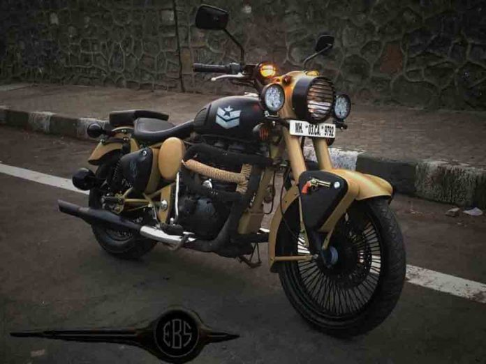 This Customised Royal Enfield Classic Looks Like Fortress