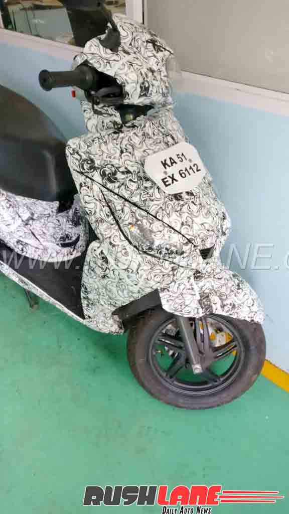 Scooter With Seat >> New TVS Jupiter 125 cc Scooter Caught Testing in India