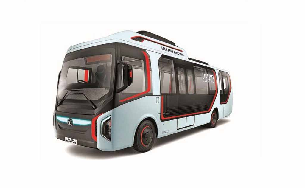 Tata motors electric bus trial begins in india for Tata motors electric car