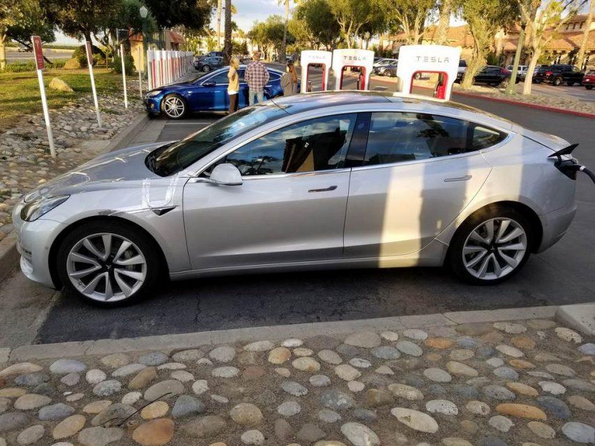 Tesla Model 3 Spied 1