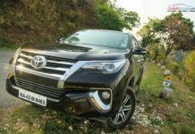 fortuner petrol at long Drive review-5